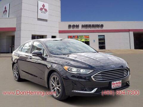 2019 Ford Fusion for sale at DON HERRING MITSUBISHI in Irving TX