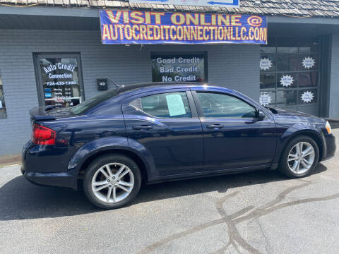 2012 Dodge Avenger for sale at Auto Credit Connection LLC in Uniontown PA