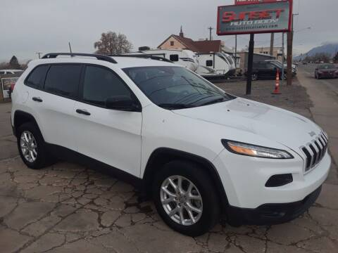 2017 Jeep Cherokee for sale at Sunset Auto Body in Sunset UT
