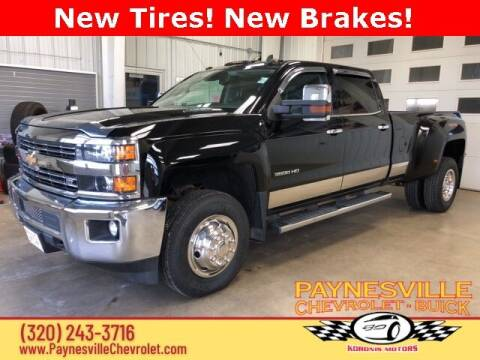2015 Chevrolet Silverado 3500HD for sale at Paynesville Chevrolet Buick in Paynesville MN