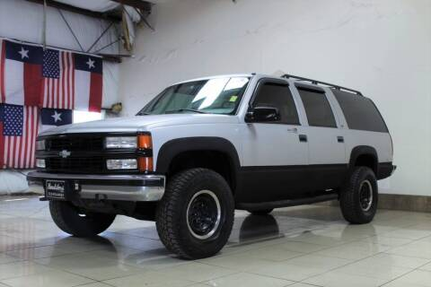 1996 Chevrolet Suburban for sale at ROADSTERS AUTO in Houston TX