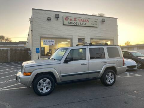 2008 Jeep Commander for sale at C & S SALES in Belton MO