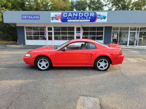 2000 Ford Mustang for sale at CANDOR INC in Toms River NJ
