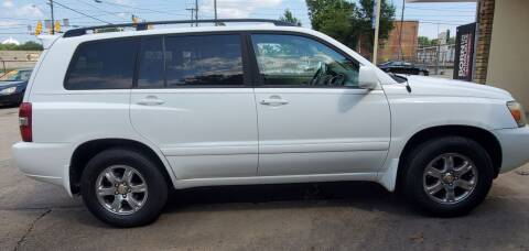 2005 Toyota Highlander for sale at Tims Auto Sales in Rocky Mount NC