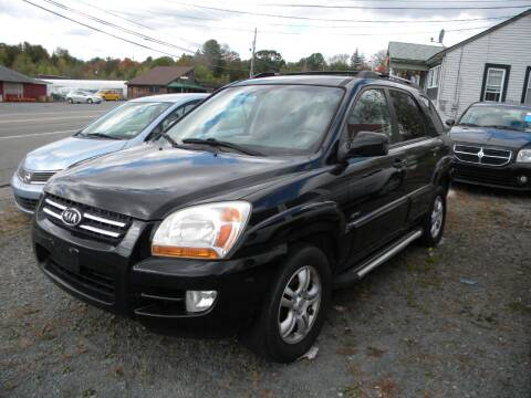 2006 Kia Sportage for sale at Discount Auto Sales in Monticello NY
