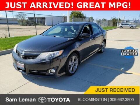 2012 Toyota Camry for sale at Sam Leman Mazda in Bloomington IL