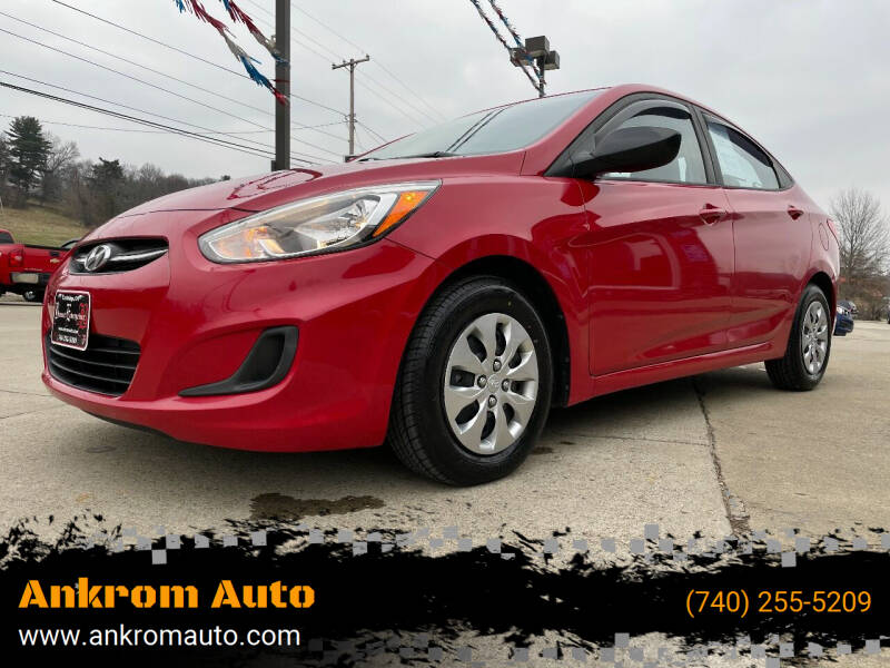 2016 Hyundai Accent for sale at Ankrom Auto in Cambridge OH
