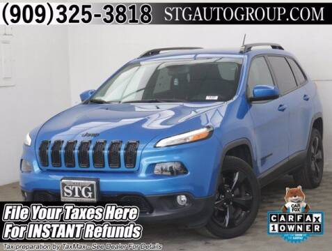 2018 Jeep Cherokee for sale at STG Auto Group in Montclair CA