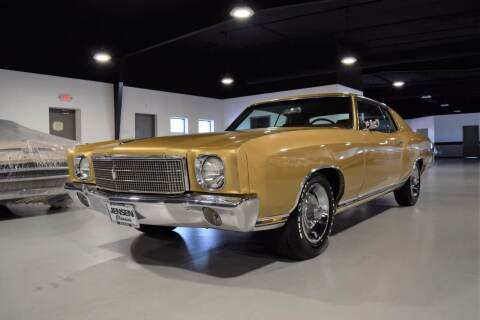1970 Chevrolet Monte Carlo for sale at Jensen's Dealerships in Sioux City IA