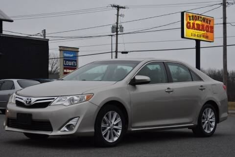 2013 Toyota Camry for sale at Broadway Garage of Columbia County Inc. in Hudson NY