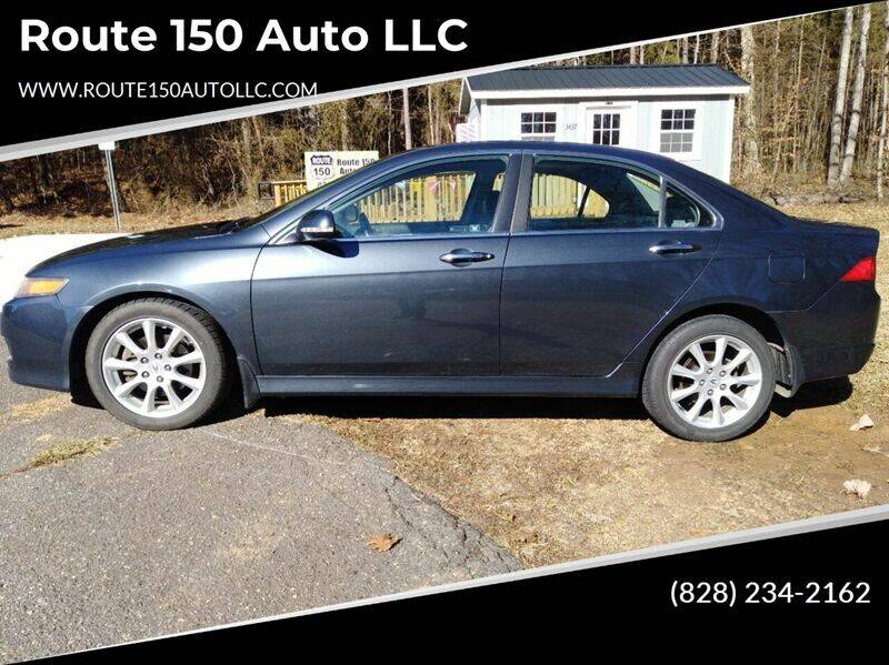 2006 Acura TSX for sale at Route 150 Auto LLC in Lincolnton NC