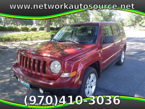 2012 Jeep Patriot for sale at Network Auto Source in Loveland CO