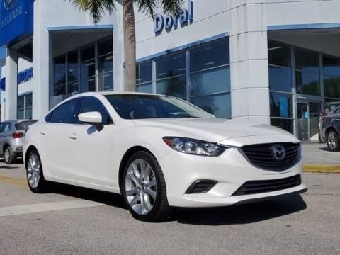 2014 Mazda MAZDA6 for sale at DORAL HYUNDAI in Doral FL