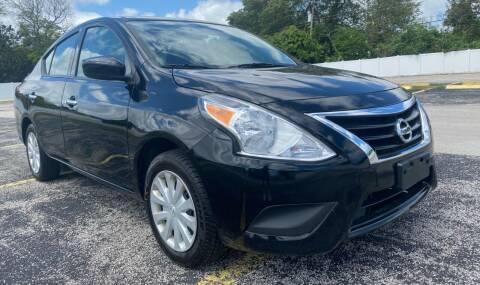 2019 Nissan Versa for sale at Guru Auto Sales in Miramar FL