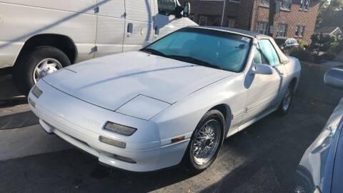 1989 Mazda RX-7 for sale at M & J Auto Sales in Attleboro MA
