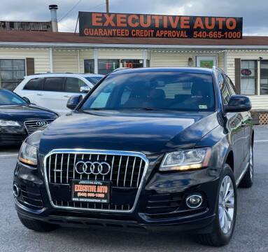 2014 Audi Q5 for sale at Executive Auto in Winchester VA