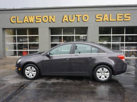 2015 Chevrolet Cruze for sale at Clawson Auto Sales in Clawson MI