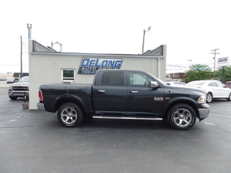 2017 RAM Ram Pickup 1500 for sale at DeLong Auto Group in Tipton IN