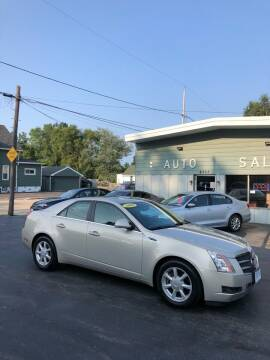 2008 Cadillac CTS for sale at SHEFFIELD MOTORS INC in Kenosha WI