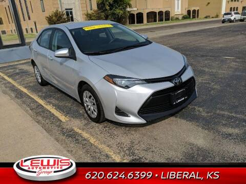 2019 Toyota Corolla for sale at Lewis Chevrolet Buick Cadillac of Liberal in Liberal KS
