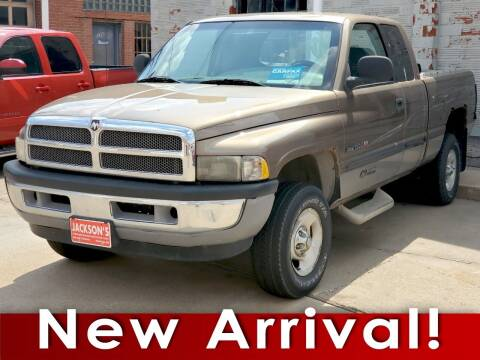 2000 Dodge Ram Pickup 1500 for sale at Jacksons Car Corner Inc in Hastings NE
