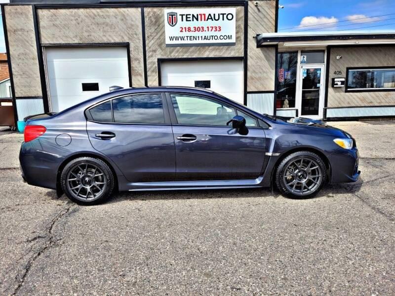 2015 Subaru WRX for sale at Ten 11 Auto LLC in Dilworth MN