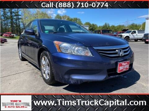 2012 Honda Accord for sale at TTC AUTO OUTLET/TIM'S TRUCK CAPITAL & AUTO SALES INC ANNEX in Epsom NH