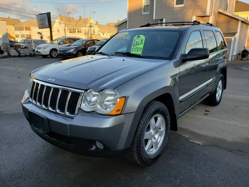 2008 Jeep Grand Cherokee for sale at Pafumi Auto Sales in Indian Orchard MA