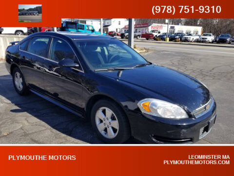 2011 Chevrolet Impala for sale at Plymouthe Motors in Leominster MA