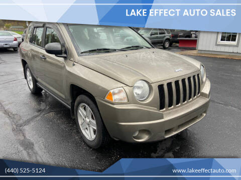 2007 Jeep Compass for sale at Lake Effect Auto Sales in Chardon OH