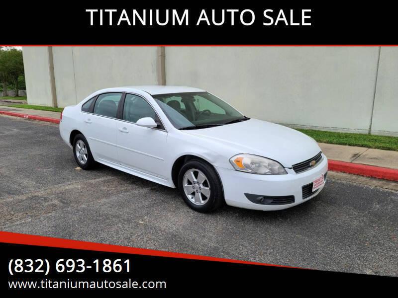 2011 Chevrolet Impala for sale at TITANIUM AUTO SALE in Houston TX