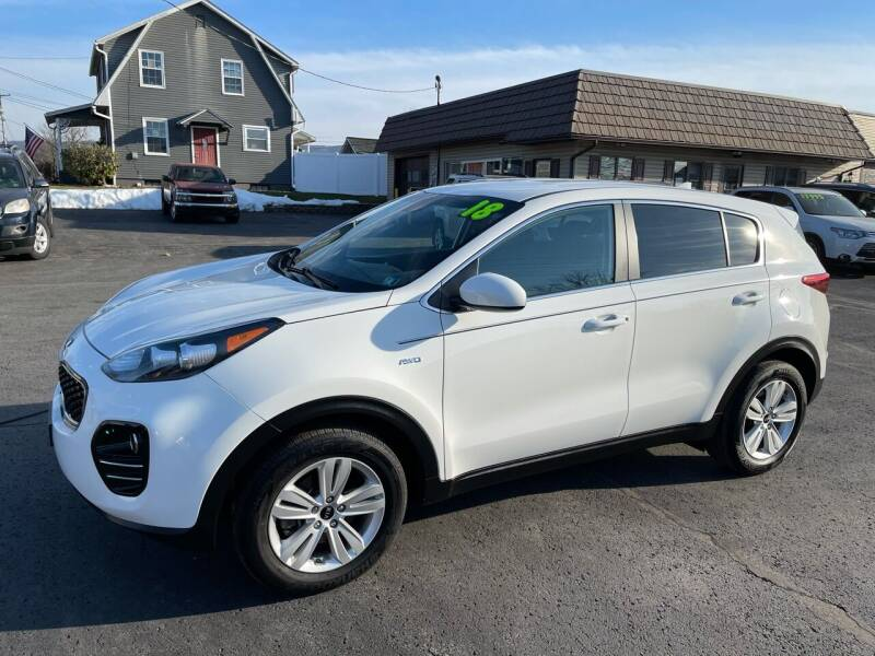 2018 Kia Sportage for sale at MAGNUM MOTORS in Reedsville PA