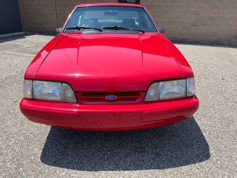 1991 Ford Mustang for sale at MICHAEL'S AUTO SALES in Mount Clemens MI