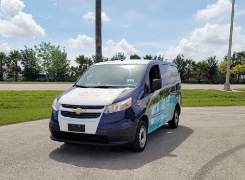 2016 Chevrolet City Express Cargo for sale at FLORIDA USED CARS INC in Fort Myers FL