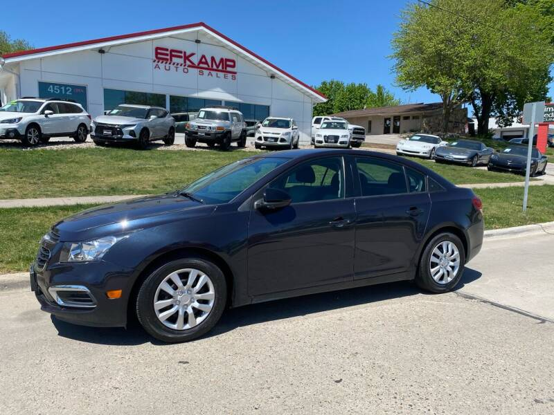 2016 Chevrolet Cruze Limited for sale in Des Moines, IA