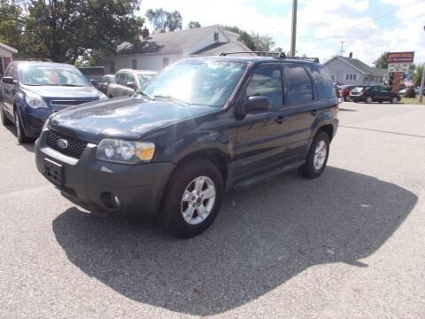 2006 Ford Escape for sale at Jenison Auto Sales in Jenison MI