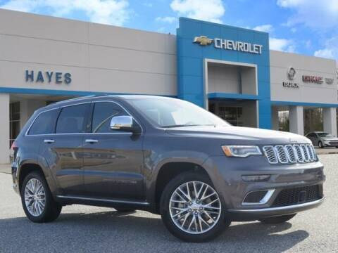 2017 Jeep Grand Cherokee for sale at HAYES CHEVROLET Buick GMC Cadillac Inc in Alto GA
