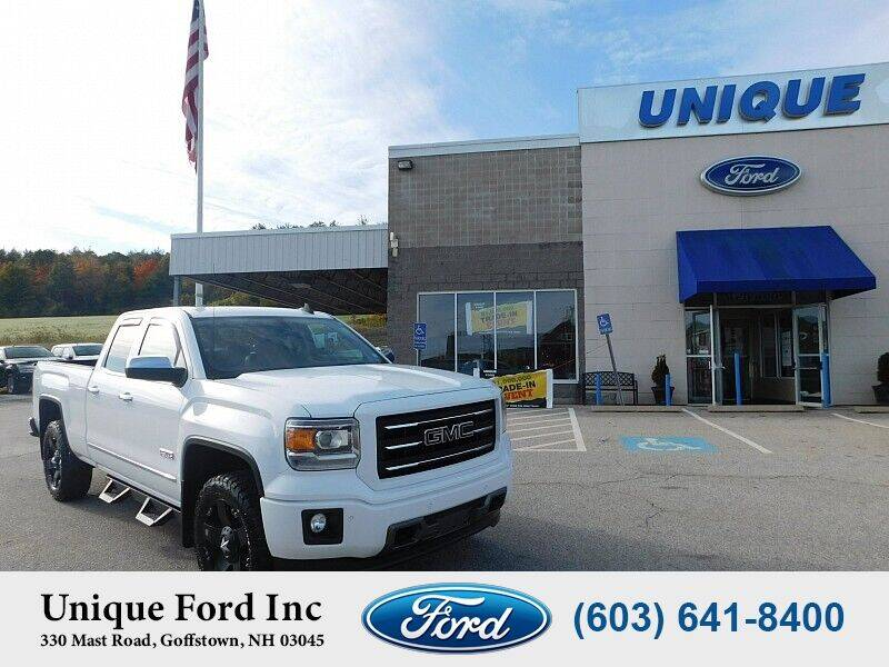 2015 GMC Sierra 1500 for sale at Unique Motors of Chicopee - Unique Ford in Goffstown NH