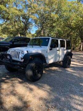 2010 Jeep Wrangler Unlimited for sale at BARROW MOTORS in Caddo Mills TX