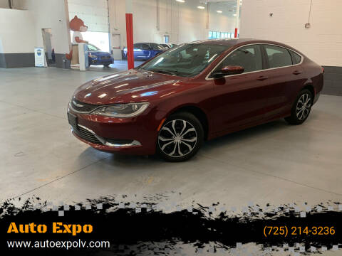 2015 Chrysler 200 for sale at Auto Expo in Las Vegas NV