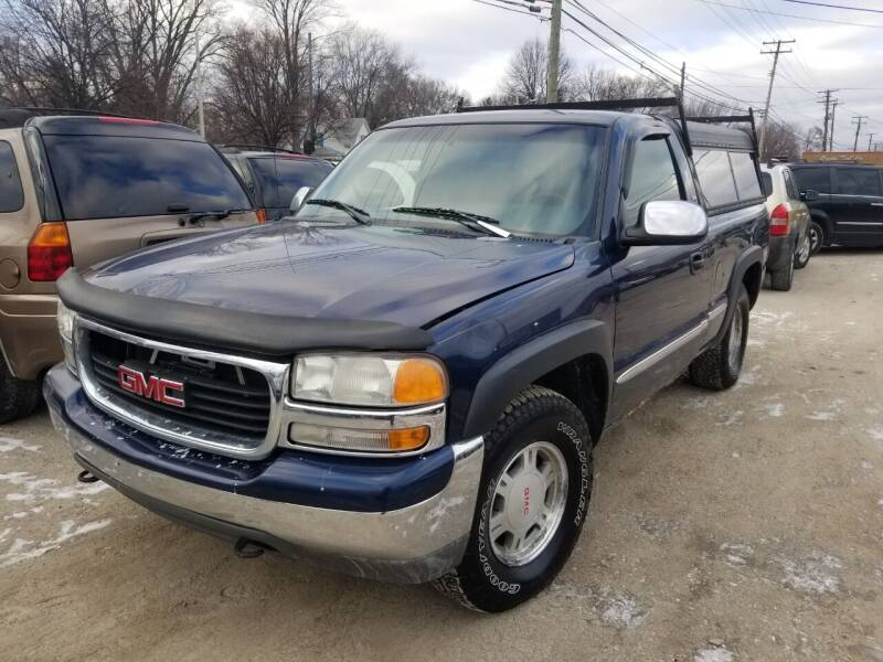 2001 GMC Sierra 1500 for sale at D & D All American Auto Sales in Mt Clemens MI