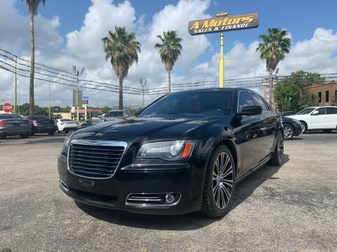 2013 Chrysler 300 for sale at A MOTORS SALES AND FINANCE in San Antonio TX