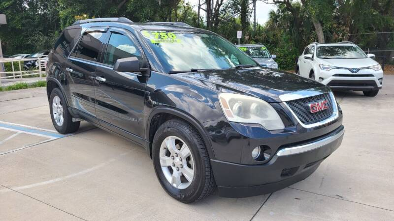 2012 GMC Acadia for sale at Dunn-Rite Auto Group in Longwood FL
