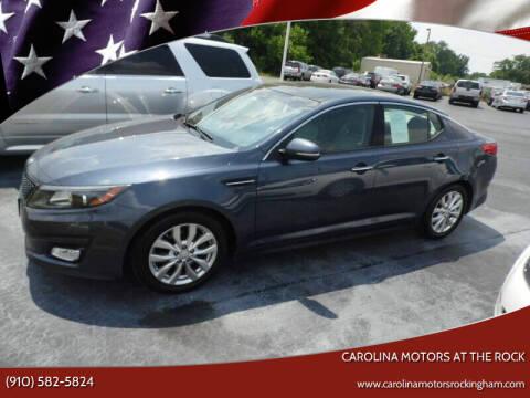 2015 Kia Optima for sale at Carolina Motors at the Rock in Rockingham NC