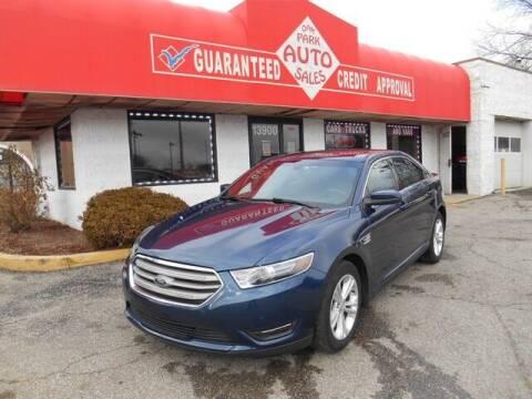 2017 Ford Taurus for sale at Oak Park Auto Sales in Oak Park MI
