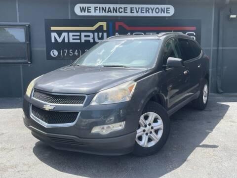 2011 Chevrolet Traverse for sale at Meru Motors in Hollywood FL