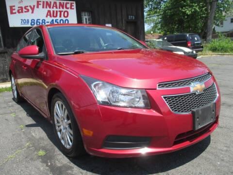 2013 Chevrolet Cruze for sale at EZ Finance Auto in Calumet City IL