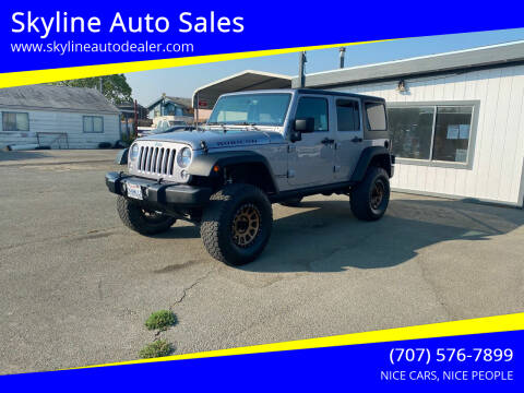 2014 Jeep Wrangler Unlimited for sale at Skyline Auto Sales in Santa Rosa CA