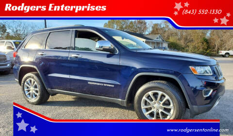 2014 Jeep Grand Cherokee for sale at Rodgers Enterprises in North Charleston SC