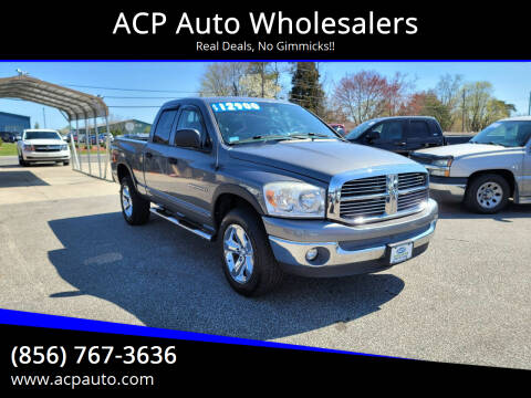 2007 Dodge Ram Pickup 1500 for sale at ACP Auto Wholesalers in Berlin NJ